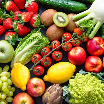 fruits et legumes frais